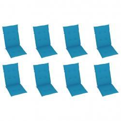 Conjunto de Móveis de Jardim Conjunto de 2 Cadeiras de Balanço 1 Mesa de Metal Textilene para Pátio Terraço 50x50x60 cm Carga 16